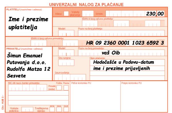 230 kn Padova
