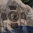 17884991-place-of-death-of-father-Slavko-Barbaric-Franciscan-top-Krizevac-near-Medjugorje-a-memorial-stone-Stock-Photo
